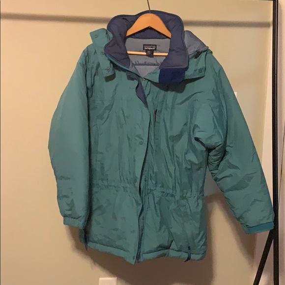 retro/vintage Patagonia winter coat